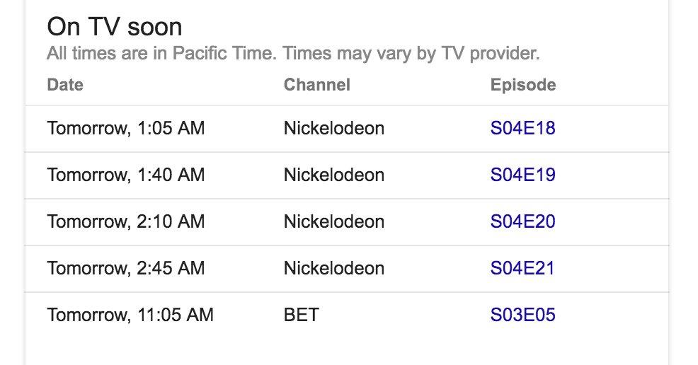 Google wprowadza informacje o transmisjach telewizyjnych
